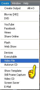 Salvataggio file video