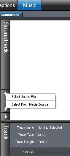 inserire un audio